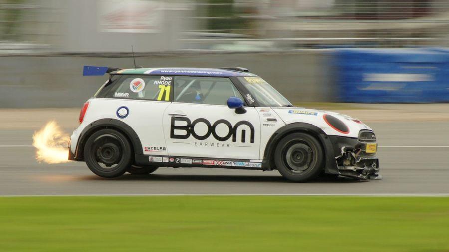GT Race day at Donington. Donningtoncastle Donnington Donningtonpark Cars Racing Race Tracks Mini's