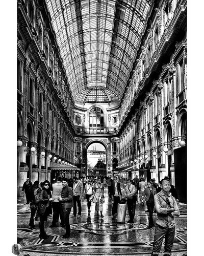 Milano Gallery City Life City Arch Built Structure Architecture Black And White Streetphoto_bw Streetphotography Black & White Street Bw_collection Eye4black&white  EyeEm Best Shots - Black + White Street Photography City Life Eye4photography  Blackandwhite Eye4black&white