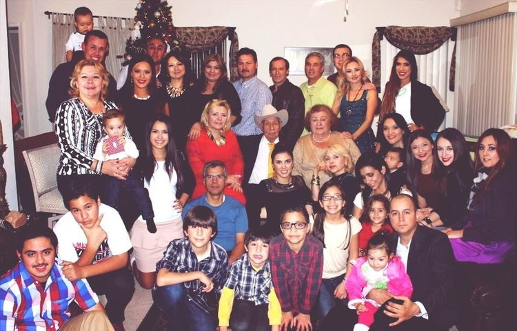 I don't think anyone knows how much I truly love my family. I love how big we are.. this is not even half of us. And not trying to brag or anything... But I have a good looking family.