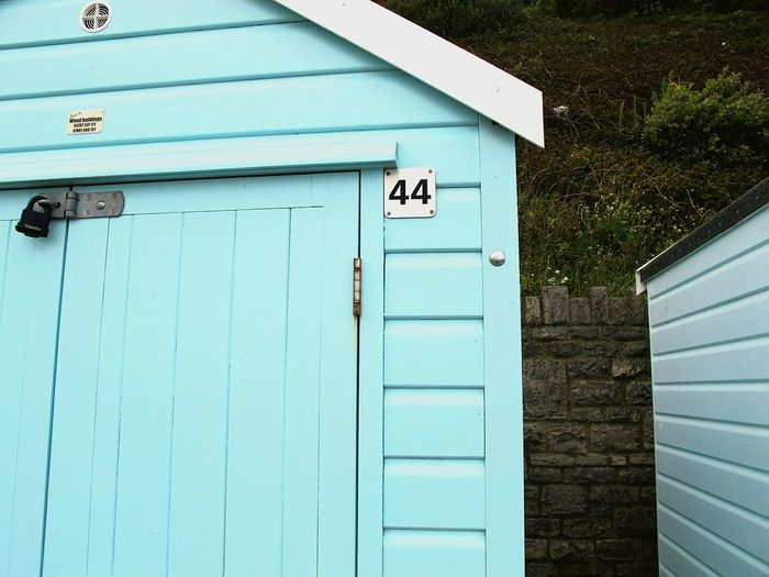 Summer Views Just because we share the same number (home that is!) 40 Something Number Bournemouth Beach Amazing Spaces Duckegg Pastel Blue Architectural Detail Holiday Seaside