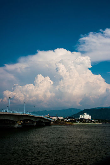 Bridge Cloud - Sky Clouds And Sky Japan Photography Sky And Clouds Sky_collection Summer Cloud Water_collection