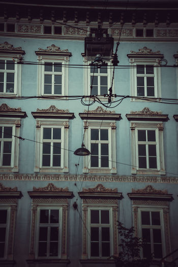 Building Exterior Architecture Built Structure Window Building Low Angle View No People Residential District City Outdoors Day Old Nature Façade Balcony Hanging Lighting Equipment History The Past Technology Apartment The Architect - 2019 EyeEm Awards