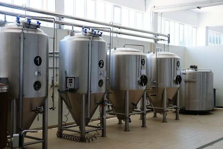 Craft Beer Tank Fermentation