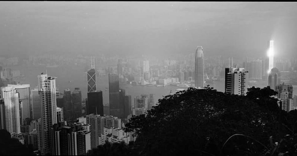 70mm Xpan Architecture Urban Skyline Skyscraper City Modern Sky Built Structure Building Exterior Cityscape Growth First Eyeem Photo