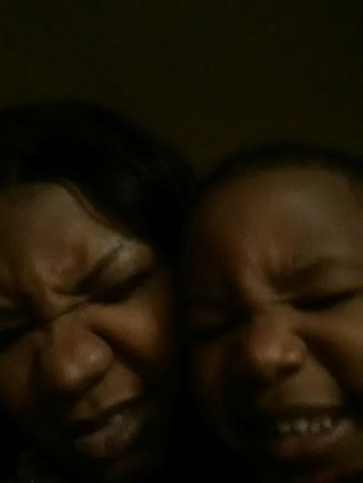 Me & Jo Being Silly