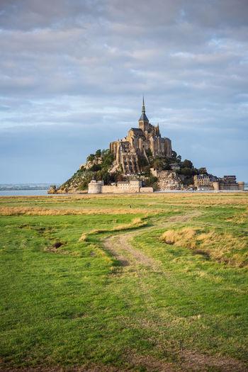 Mont saint-michel at normandy