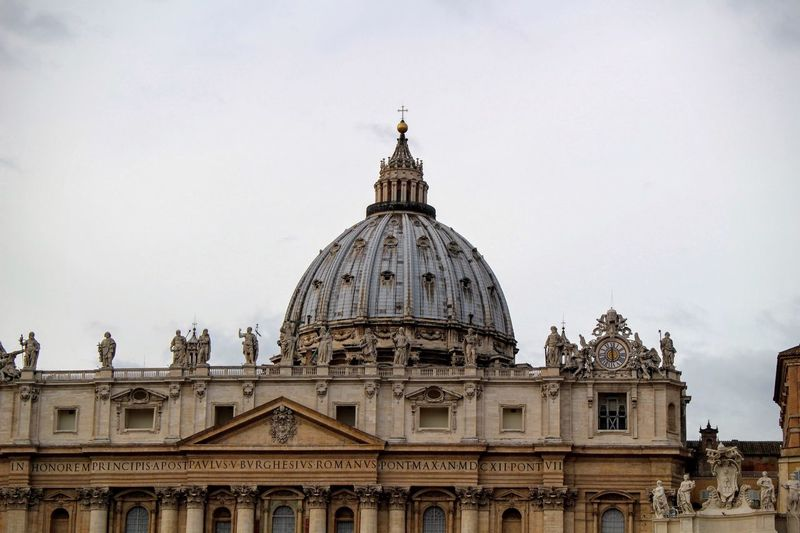 St Peters Basilica Against Sky