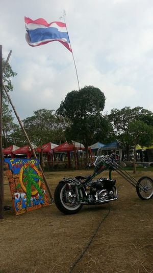 Make love not war. Bike Burapabikeweek Pataya Thailand Chopper Festival