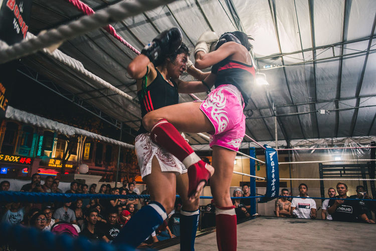 Always resist. International Women's Day 2019 Women Real People Lifestyles People Sport Vitality Boxing - Sport Young Adult Athlete Young Women Strength Healthy Lifestyle Exercising Effort Muay Thai Kickboxing Knee Fight Sports