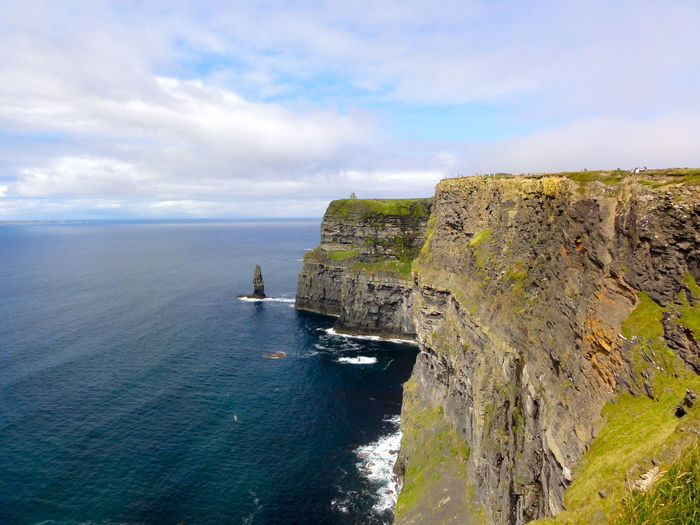 Cliff Clifs Of Moher Enoying Life  Happy Moments Heavily Ireland Nature No People Outdoors Landscape With Whitewall Rock Rocky Rough Scenics Stone Stop And Stare The Atlantic Ocean Turistic Places