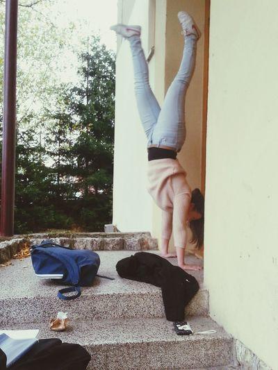 Handstand :)