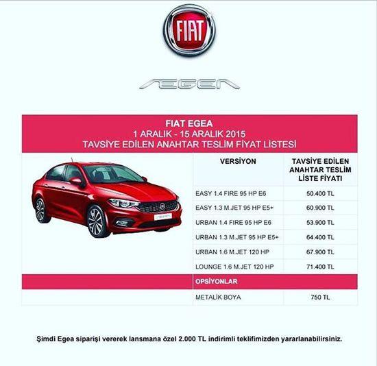 http://fiategea.net Fiategea 1-15 Aralık fiyat listesi FiatTipo Fiategeanet Fiat Fiyatlistesi Fiategeafiyat Tofaş
