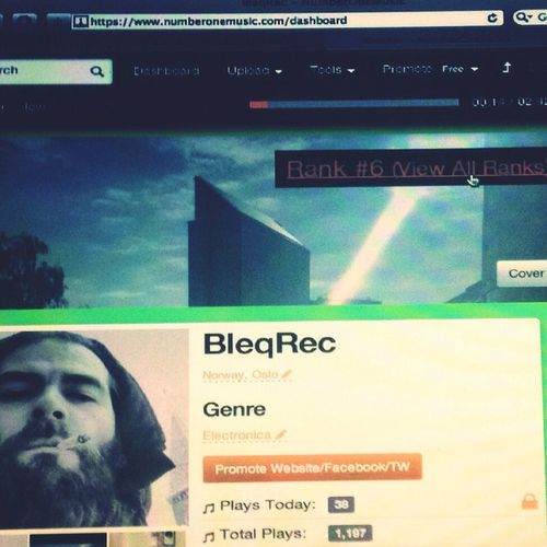 new site Numberonemusic.com artist me BleqRec Mars 2017 Spring is here- summer around the street soon:):):)