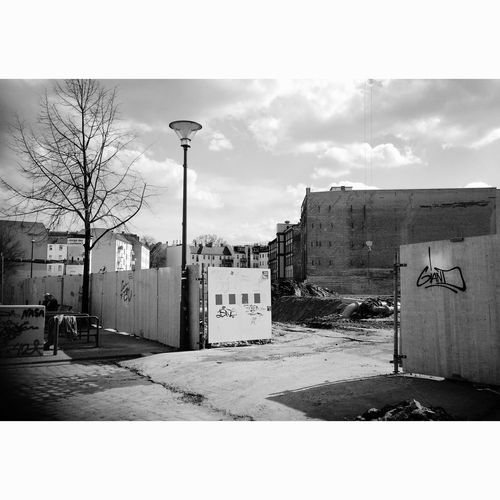 New Berlin Urban Landscape Urban Development Blackandwhite Streetphotography Streetphoto_bw Lerone-frames Lerone-doc Friedrichshain Construction Construction Site Freudenberg Areal Signature Gate At The Gates Open Everything People In Niches Lantern
