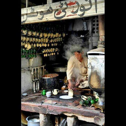 Traditional Qehwa shop at old city Qehwa Tradition History HistoryAlive Amazing AmazingCity Peshawar KP Pakistan