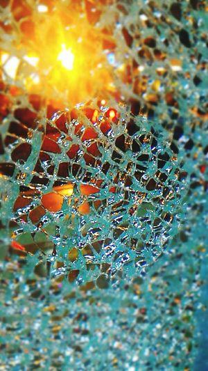 Fragments Glass Fragility Spider Web Night View Buildingart Broken Glass Nightview Temperedglass