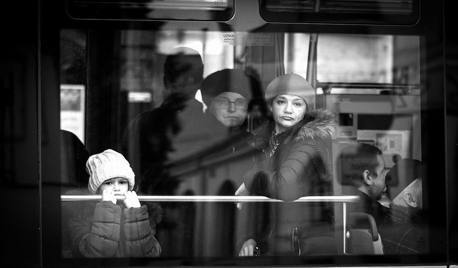 Adult Adults Only EyeEm Gallery Eyeemstreetphotography In Riga Latvia Lifestyles People Portrait Real People Reflection Sadness And Sorrow Street Streetcar Streetphotography Tram Women Young Adult Young Women EyeEmNewHere The City Light Women Around The World Candid Candid Photography Real People, Real Lives Welcome To Black The Street Photographer - 2017 EyeEm Awards