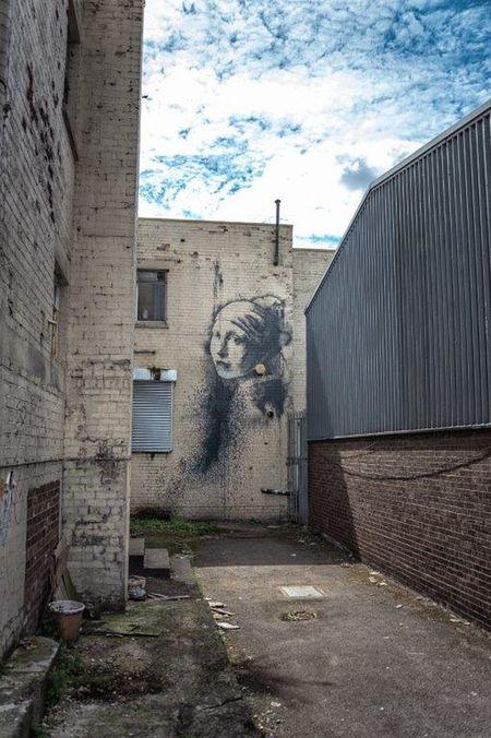 Banksy Banksyart BanksyBristol Bristol Bristol, England StreetArtEverywhere Streetart