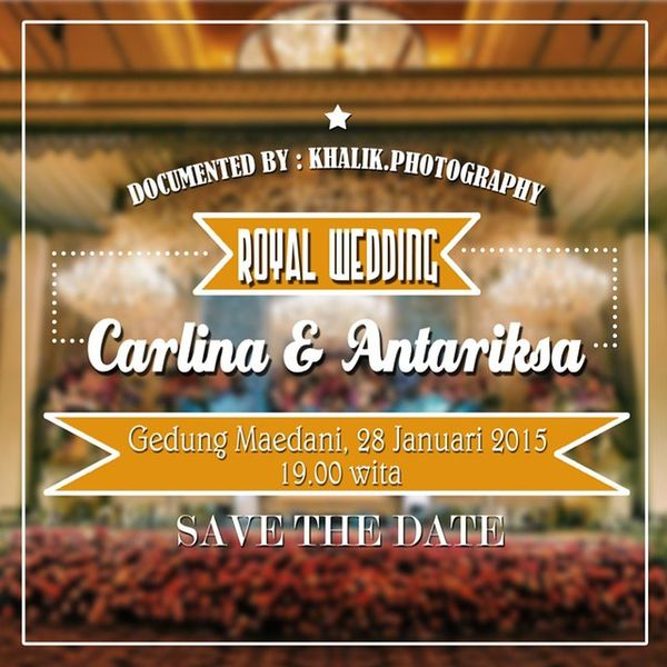Job of the month @carlinakarlin & Antariksa Wedding RoyalWedding Invitation Baubau Wedding Party wedding_indonesia wedding_buton wedding_jawa wedding_jawa wedding_photographer weddingclip weddingphoto