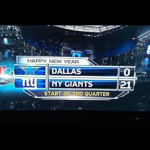 NYC Giants Gmen Shutout COWGIRLS