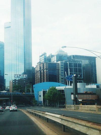 City Life in the Melbourne CBD near the Crown Casino