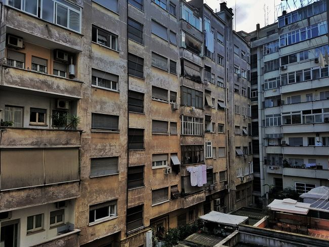 Roma architecture concrete popular Building Exterior Architecture Built Structure Residential Building Window Outdoors City No People Apartment Day