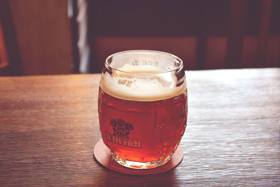 Drinking Beer Beer Time Prague Beer Czech Beer