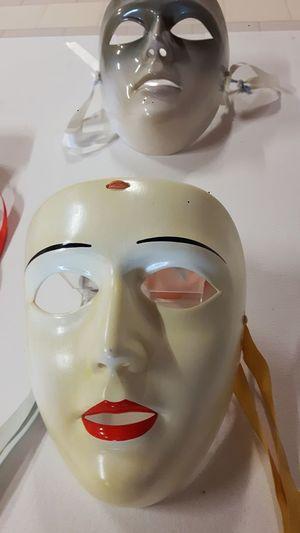 Sardinian typical masks Masks Barumini Sardinia Sardegna Sardinia Sardegna Italy  Mask Masks Traditions Culture Traditional White Masks Ceramic Pottery Su Componidori Componidori Human Lips Facial Mask - Beauty Product Human Face Women Close-up Human Representation Mannequin