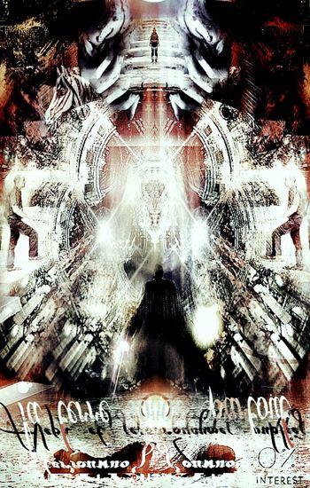 13 ème royaumes D'Aleph, variation incertaine Petites Fantaisies🔸 Entre Ombre Et Lumiere Aleph 13 ème Royaumes Human Representation Château Noir No Quarter Digital Art Reflection Digital Composite Horse Large Group Of People Object 3 Nuits Close Up Spirituality Portrait Pixelated Technology Backgrounds Full Frame Multiple Image Close-up