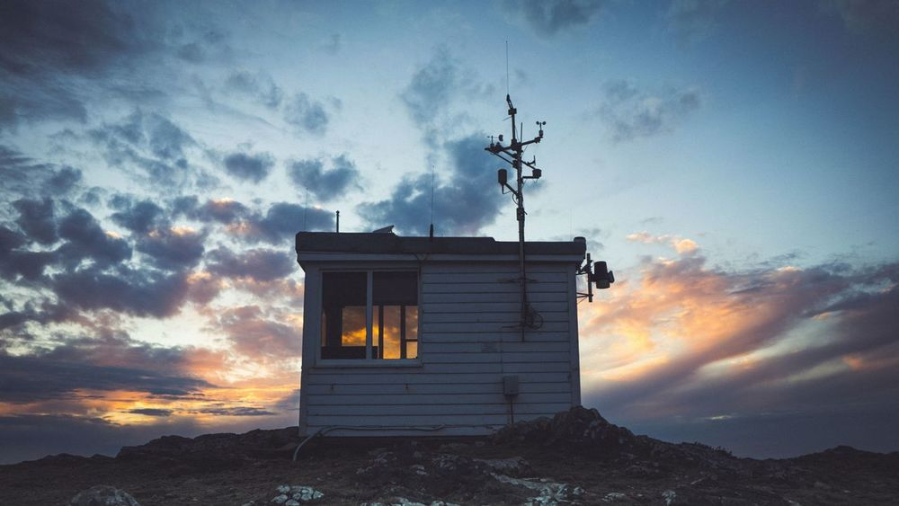 Lookout hut in Marloes, Pembrokeshire. Imagine the daily view that comes with this job! Sunset Firewatch Hanging Out Leicap9 HuaweiP9 Sky EyeEm Best Shots EyeEmBestPics Eyeemphotography Home Is Where The Art Is