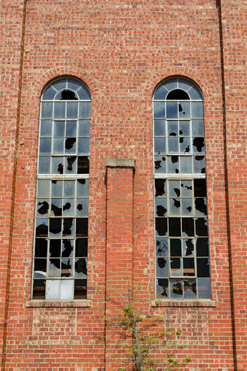 Abandoned Abandoned & Derelict Abandoned Buildings Architecture Backgrounds Brick Wall Building Exterior Built Structure No People Window