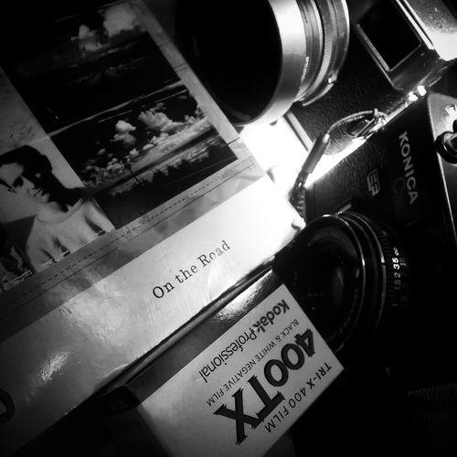 On the road ... Blackandwhite EyeEm Best Shots EyeEm Best Shots - Black + White Black And White Photography Analogue Photography Kodak Konica Books Reading A Book