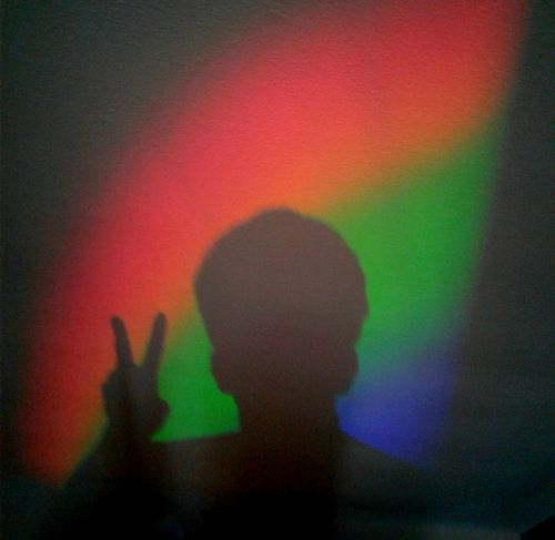Silhouette One Person Multi Colored Shadow Adult Indoors  Peace Break The Mold The Photojournalist - 2017 EyeEm Awards