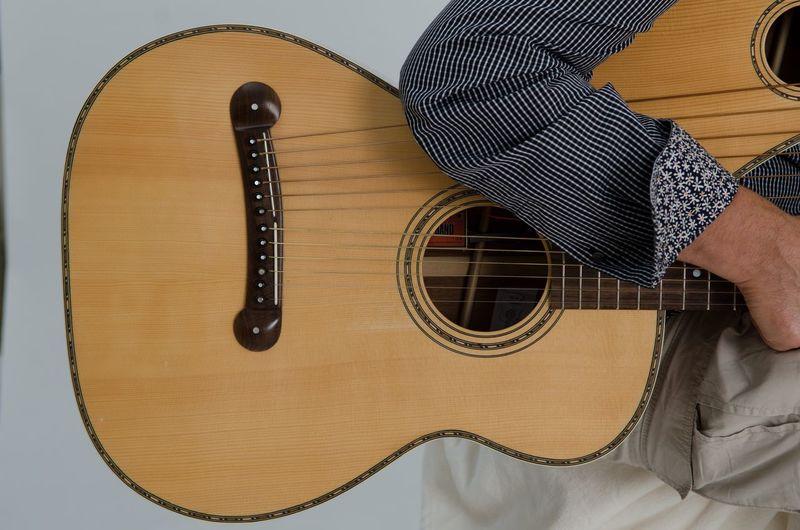 Indoors  Close-up Musician Music Acoustic Guitar Guitar Player Geometric Shape Hobbies Shape Guitar Harp Guitar