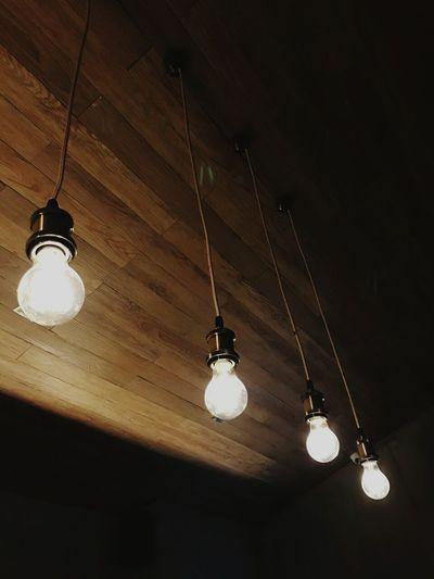 First Eyeem Photo Lights Wood