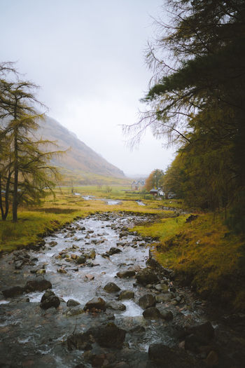 find more travel inspiration at http://www.instagram.com/simonmigaj Glencoe Grass Scotland Autumn Beauty Beauty In Nature Day Fog Forest Landscape Mood Moody Mountain Nature No People Outdoors Scenics Sky Tranquil Scene Tranquility Tree Water