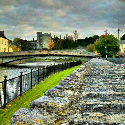 Kilkenny Castle Sklfamily Sklirland Irland Landmark Kilkenny