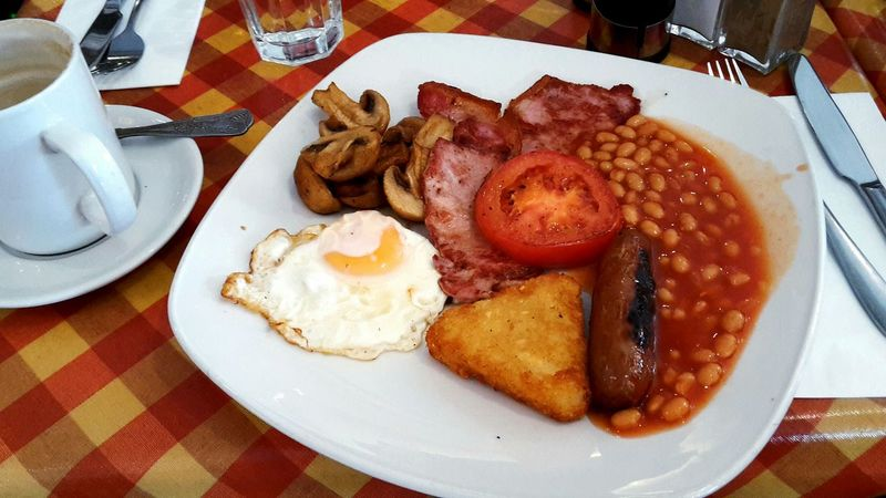 A typical Full English Breakfast. London, UK Brunch Around The World Eye4photography  EyeEm Best Shots Breakfast My World Of Food A Taste Of Life Time For Breakfast  Food Porn Awards Find Your Passion What I Value