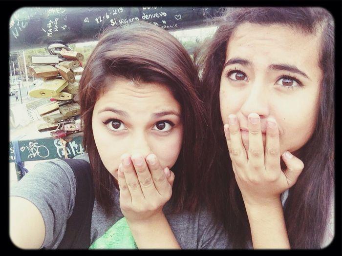 Con la amiga<33 First Eyeem Photo