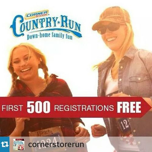 Go to: www.cornerstorelittlerock.racesonline.com Repost from @cornerstorerun with @repostapp — First 500 registrations are FREE for each race, thanks to our sponsors! Sign up today before it's too late! CountryRun2014