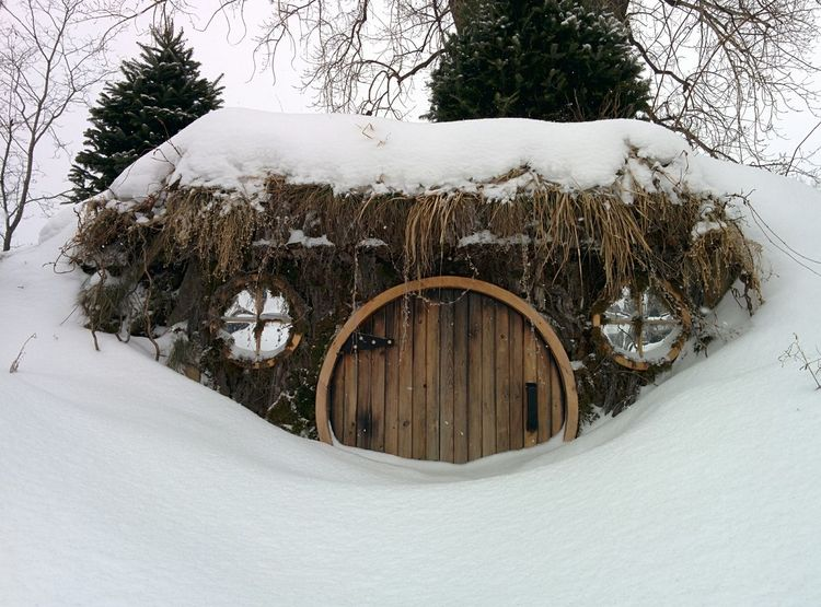 Hobbit House My Creation Magical Places Winter Wonderland Snow Getting Inspired Art Winter Make It Yourself Beautiful