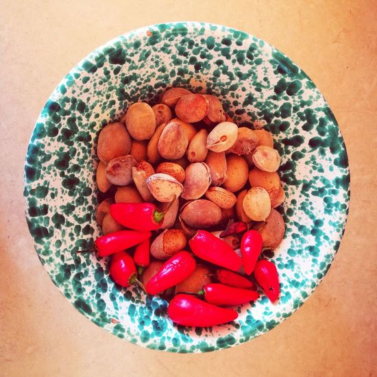 Almond&pepper Nature large group of objects almonds peppermint peppers peperoncini mandorle Objects Eating kitchen life no people Colors and patterns Nature Large Group Of Objects Almonds Peppermint Peppers Peperoncini Mandorle Objects Eating Kitchen Life No People Pattern, Texture, Shape And Form Mobile Photography Pattern In Nature Food And Drink Table Food Directly Above Indoors  Ready-to-eat Close-up Plate Freshness Healthy Eating Day Bowl Indulgence Food Stories The Still Life Photographer - 2018 EyeEm Awards