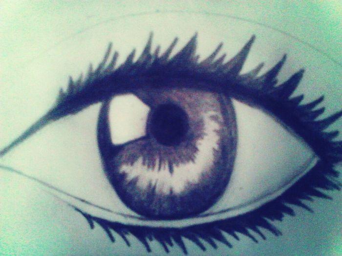 Eye I drew. Old. Eye Something I Drew