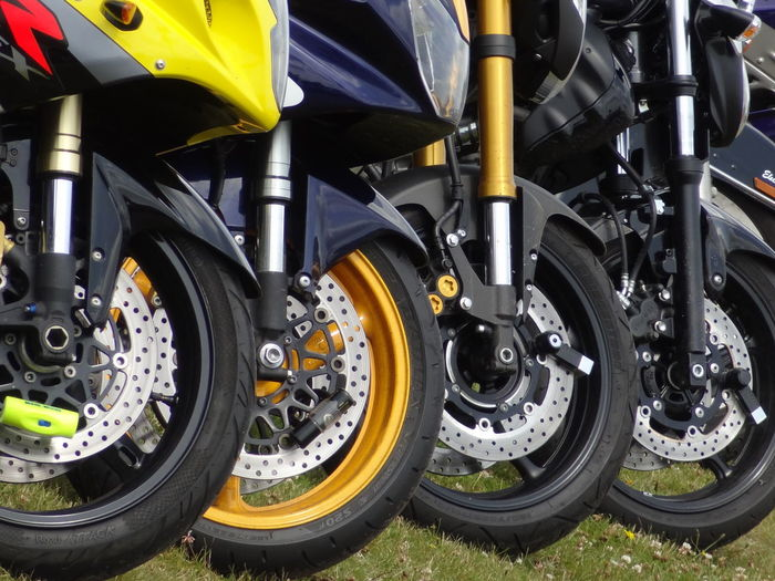 Wheels Close-up Day Light Effect Machine Part Modern Motocycles No People Outdoors Sports Race Technology Tire Transportation Vehicle Part