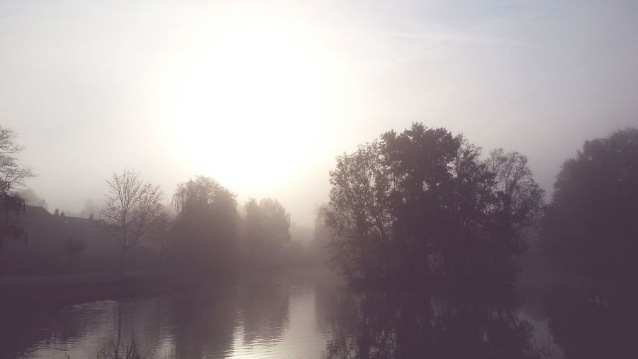 Misty Morning At Your Doorstep Early Morning Soest