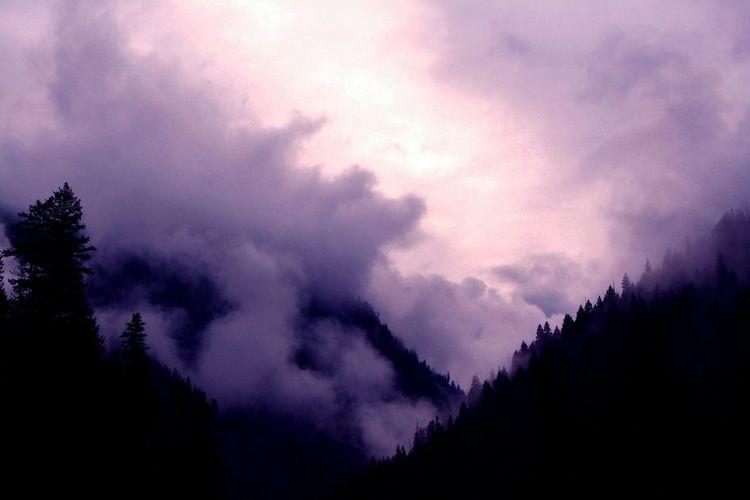 Wild mountains of Montana USA