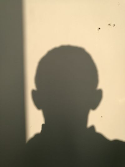 Shadow Silhouette Focus On Shadow One Person Human Body Part People One Man Only Adult Only Men Indoors