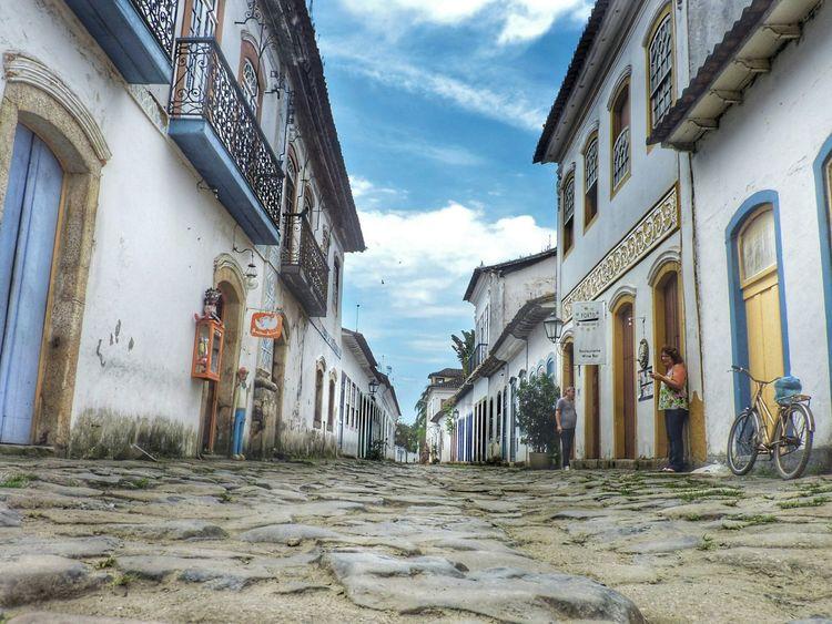 Architecture Centrohistorico Paraty Paraty - RJ Sky Cloud - Sky City Day Vacations Scenics Paraty, Brazil
