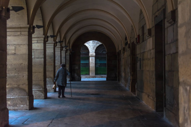 Navarra Viana The Week On EyeEm EyeEm Selects EyeEmNewHere Arch Architecture Corridor Built Structure History Indoors  Travel Destinations Day Adult City One Person People Politics And Government