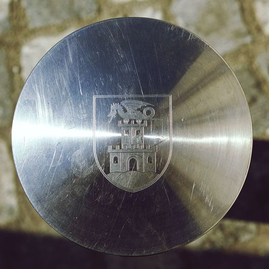 Close-up of metal object